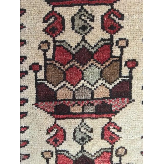 Vintage Hamadan Persian Rug - 3′6″ × 5′4″ - Image 9 of 9