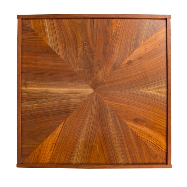 "Wood Contemporary Ferrick Mason ""The Hutton"" Coffee Table For Sale - Image 7 of 8"