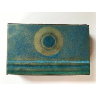 1950s Mid Century Modern Enamel Dresser Box With Trays - 3Pieces Preview