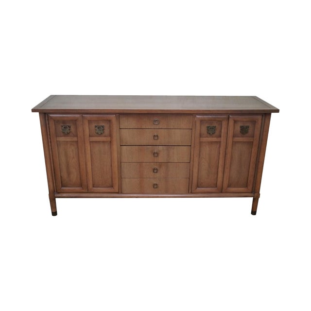 American of Martinsville Mid Century Modern Credenza Sideboard For Sale