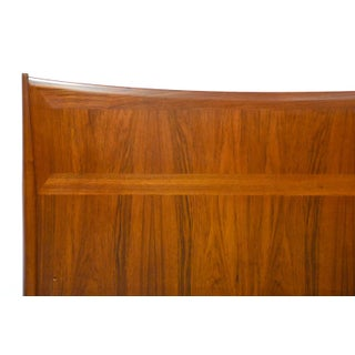 Danish Modern Teak King Headboard Bed Preview