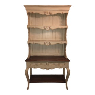 Antique Hand Painted Hutch For Sale