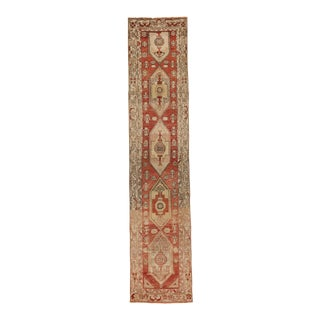 "1910s Turkish Oushak - 2'9"" X 12'10"" For Sale"