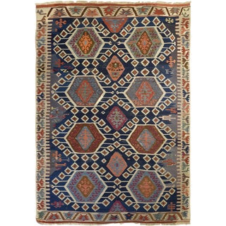 Antique Anatolian Kilim Rug For Sale