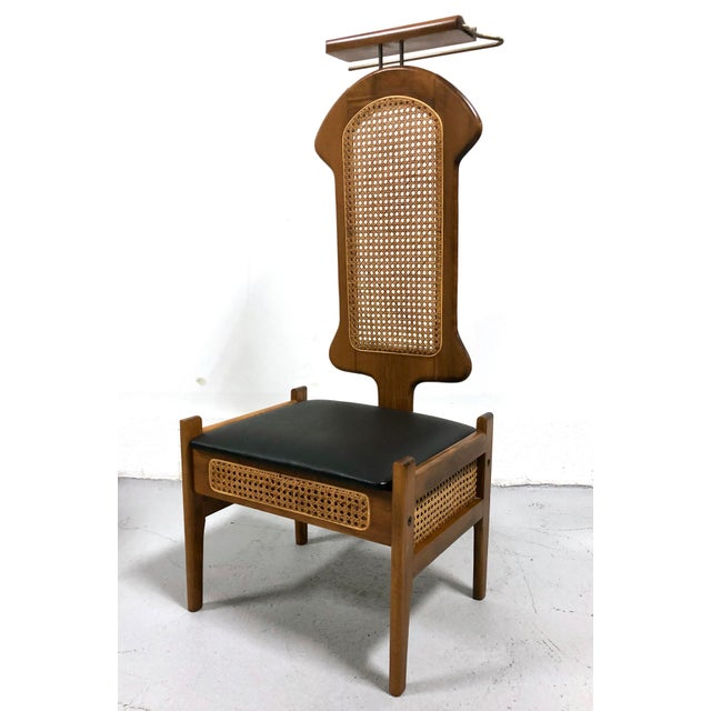 Mid Century Italian Modern Men's Valet Chair For Sale - Image 11 of 11