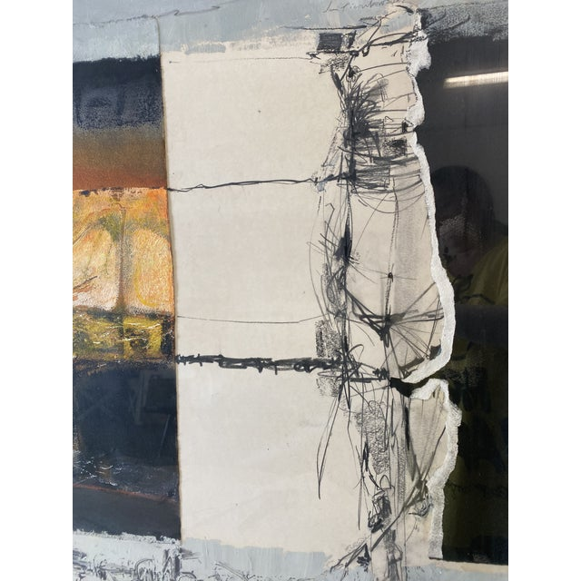 Joni Pienkowski Mixed Media Painting For Sale - Image 9 of 13