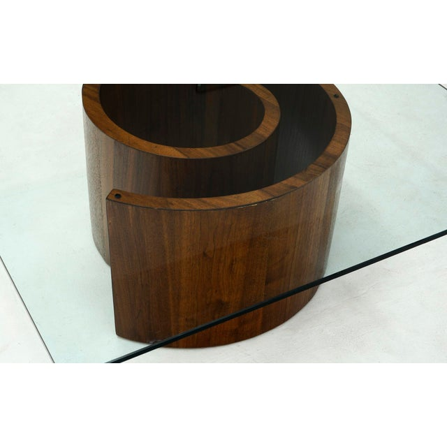 1960s Vladimir Kagan Square Snail Coffee Table For Sale In Kansas City - Image 6 of 7