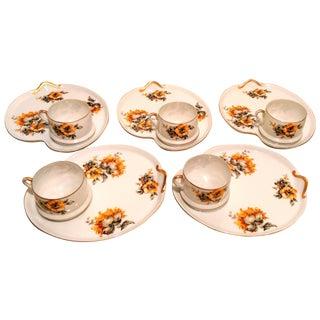 Chrysanthemum Snack Set- Set of 5