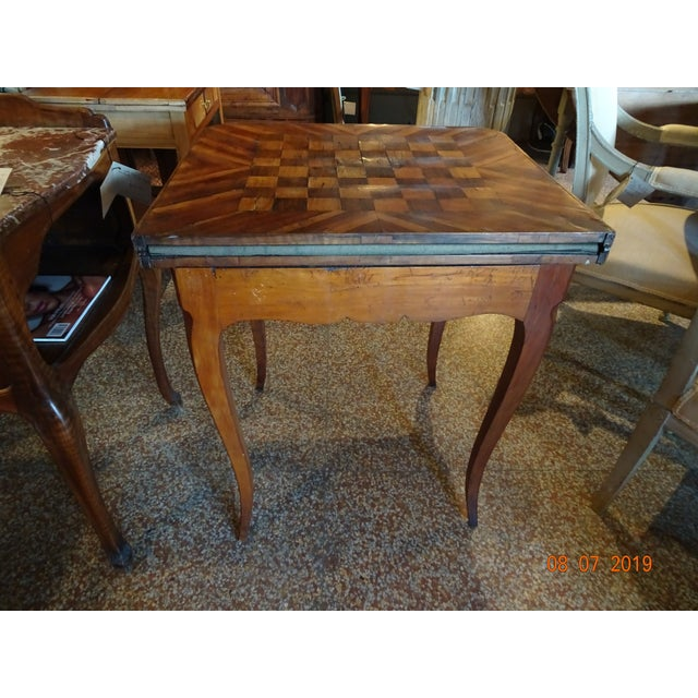 18th Century French Game Table For Sale In New Orleans - Image 6 of 9