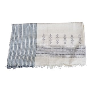 Hand Woven Lightweight Wool Bed Cover For Sale
