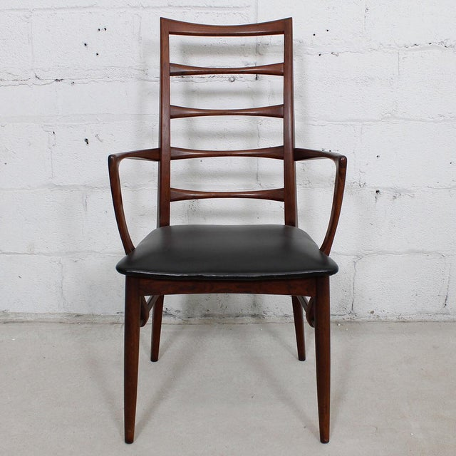 Koefoed Hornslet Danish Modern Rosewood Dining Chairs - Set of 6 For Sale In Washington DC - Image 6 of 10