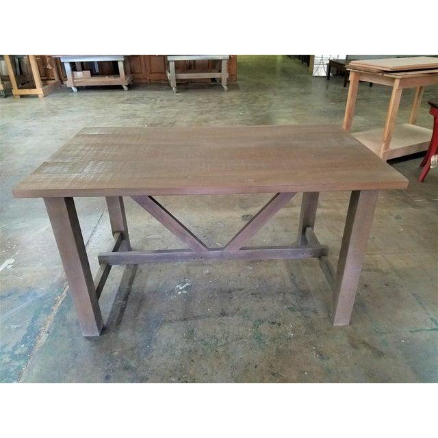 Farmhouse Style Salvaged Wood Dining Table Restoration Hardware Look