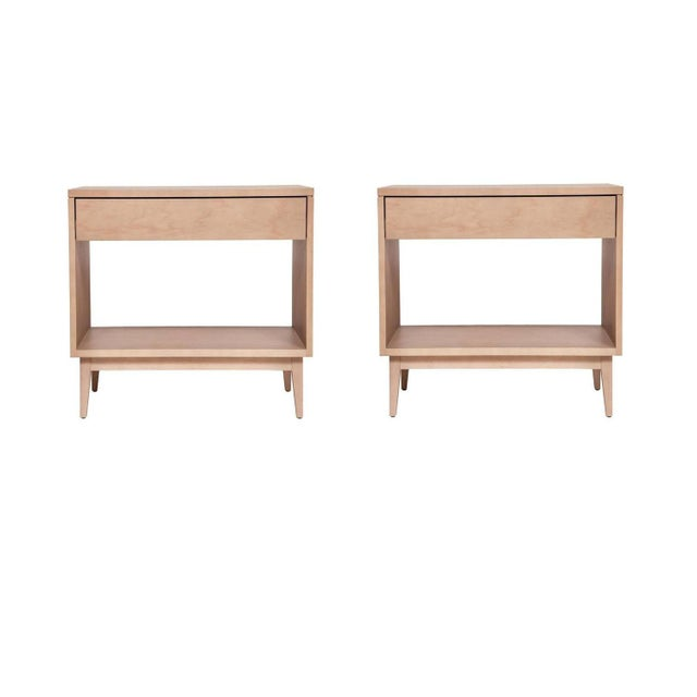 Baptiste Nightstands - a Pair For Sale - Image 4 of 4