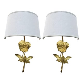 Vintage E. Guillemard Sconces - A Pair For Sale