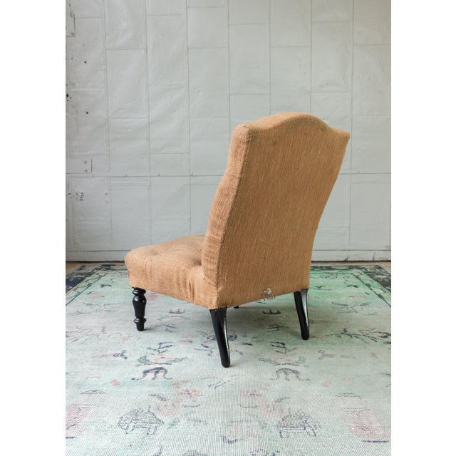 Pair of 19th Century Slipper Chairs For Sale - Image 10 of 13