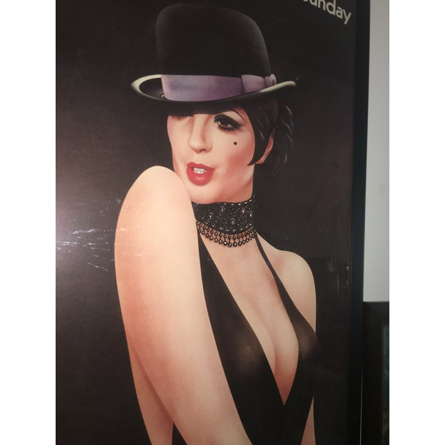 1972 London Telegraph Lisa Minnelli Cabaret Poster - Image 6 of 11