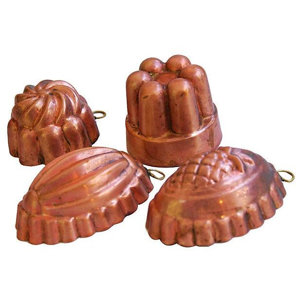 Collection of 1960s Copper Molds - Set of 4 - Image 3 of 7