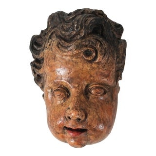 Cherub Head Wall Decor