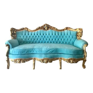 1940s Vintage Baroque Style Sofa For Sale