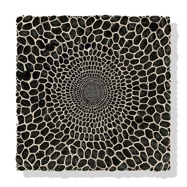 Contemporary Amy Genser Black and White Squares #16-25 For Sale - Image 3 of 8