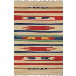 "Anatolian Hand-Woven Cotton Rug- 9' 0"" X 12' 0"""