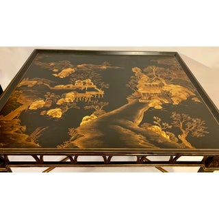 Large Scale Carved Chinoiserie Coffee Table Preview