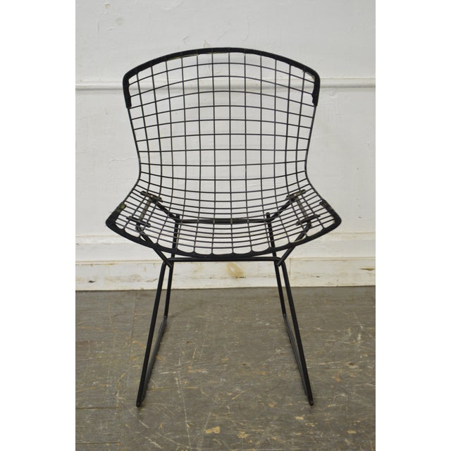 Bertoia for Knoll Mid Century Wire Side Dining Chairs - Set of 12 For Sale - Image 5 of 10