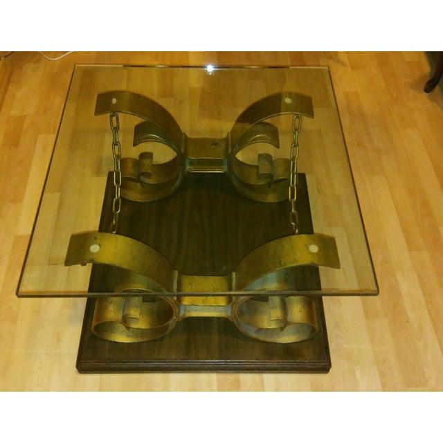 Vintage Kroehler Glass Top Coffee Table - Image 6 of 7