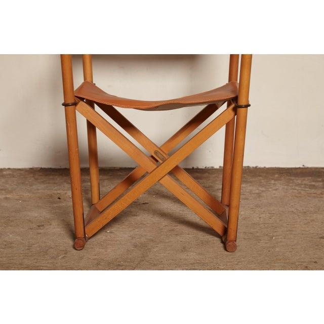 Mid 20th Century 1960s Vinage Mogens Koch Mk-16 Safari Chair for Interna, Denmark For Sale - Image 5 of 7