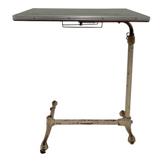 Vintage Adjustable Hospital Tray Table