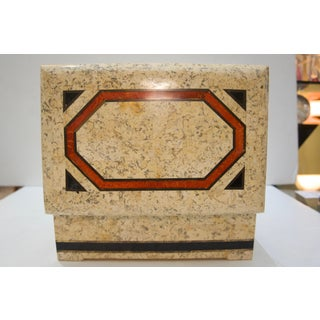 1980s Maitland Smith Marble Box Preview