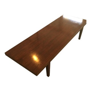 1950s Mid-Century Modern Severin Hansen for Haslev Rosewood Coffee Table For Sale