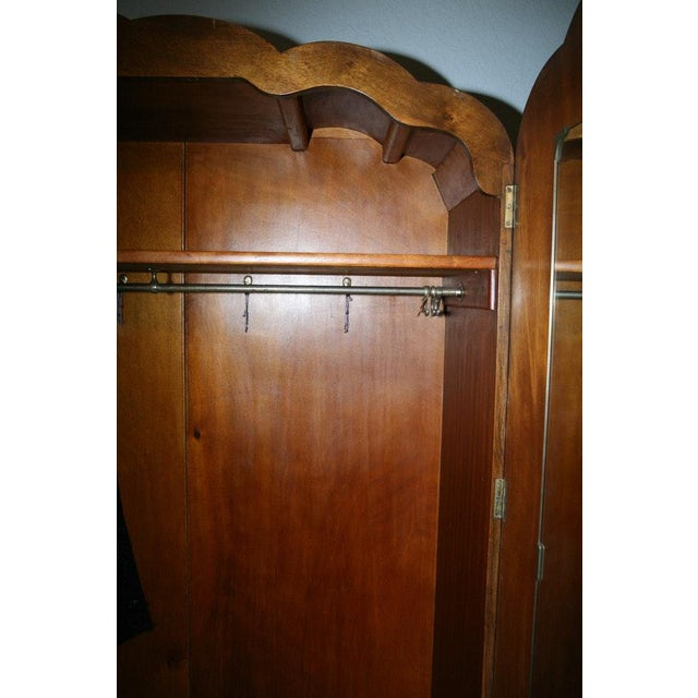 Vintage Wooden Armoire - Image 8 of 11