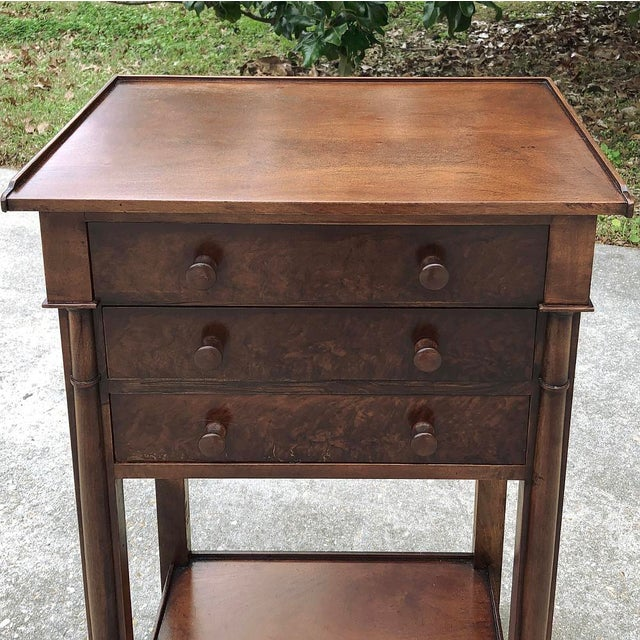 Mid 19th Century 19th Century French Charles X Nightstand For Sale - Image 5 of 12