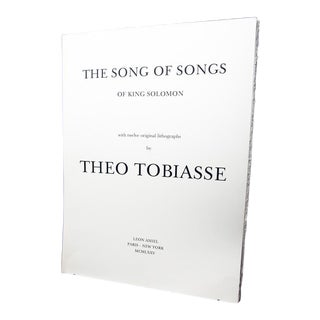 Songs of King Solomon Portfolio LXXII/C Lithographs by Theo Tobiasse - Collection of 12 For Sale