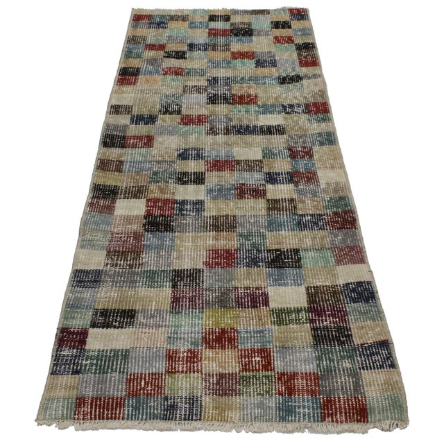 Attributed to the Turkish megastar, Zeki Müren. Zeki Müren's collection of rugs highlight bold geometric patterns and...