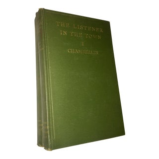 """""""The Listener in the Town & Country"""" Book Volumes - A Pair For Sale"""