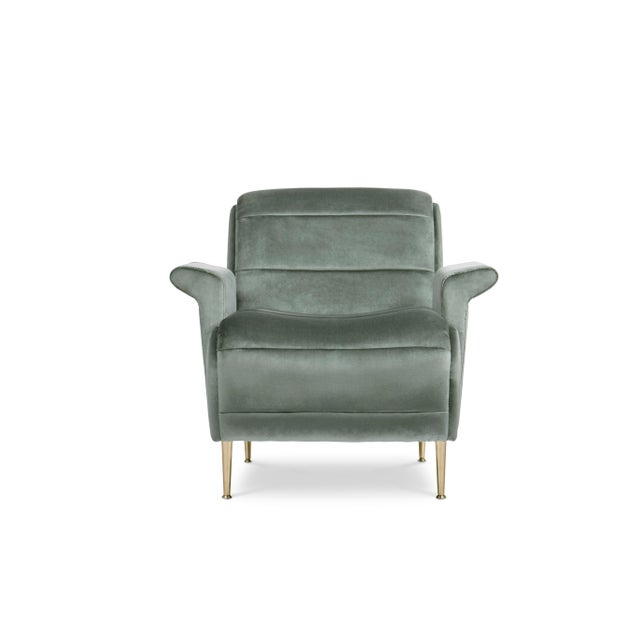 Not Yet Made - Made To Order Covet Paris Bardot Armchair For Sale - Image 5 of 5