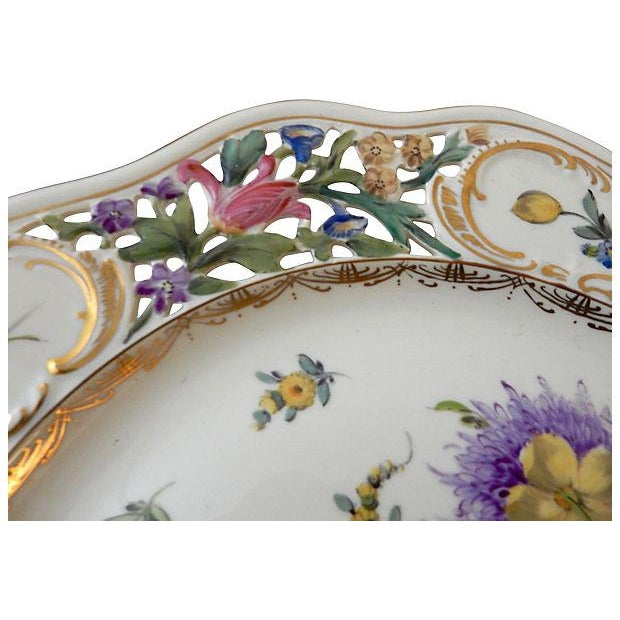 19th-C. Dresden Cabinet Plate - Image 3 of 7