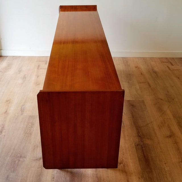 Vintage Mid-Century Modern Italian Credenza For Sale - Image 9 of 12