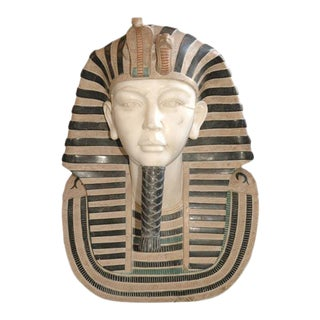 Egyptian Pharaoh Marble Bust