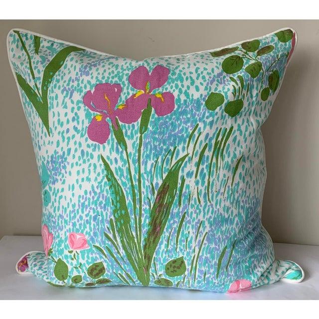 Hollywood Regency Pair of Paule Marrot Brunschwig Fils Custom Pillows For Sale - Image 3 of 13