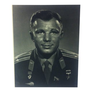 "Black & White Print on Paper, ""Yuri Alexeyevich Gagarin"" by Yousuf Karsh, 1967 For Sale"