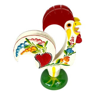 Vintage Rooster Napkin Holder For Sale