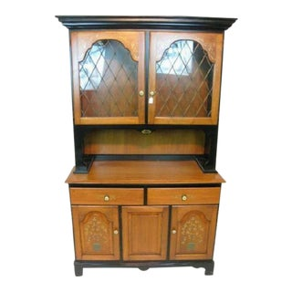 Vintage Hitchcock Fenwick Buffet Hutch For Sale