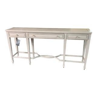 "Transitional Bernhardt ""criteria"" Console Table For Sale"