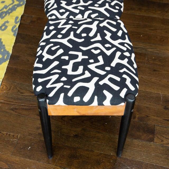 1960s John Stuart Style Mid Century Three-Seat Bench For Sale - Image 5 of 9