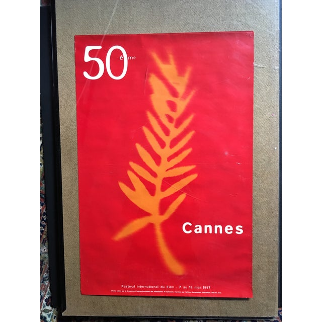 This 50th Cannes Film Festival 1997 poster is in very good condition with no tears. The colors are vibrant and it's a...