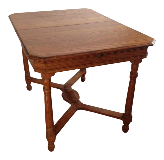 antique oak kitchen table vintage  u0026 used dining tables   chairish  rh   chairish com