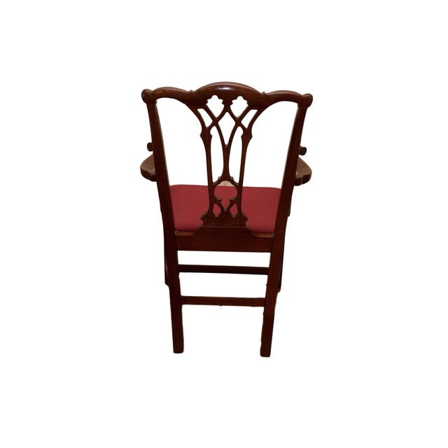 Chippendale Style Mahogany Dining Chairs - S/8 - Image 5 of 10